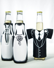 Wedding Party Bottle Holders