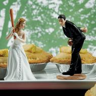 """Hit the Home Run"" Cake Topper"