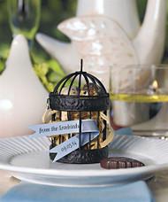 Miniature Classic Round Decorative Birdcages (Set of 4)