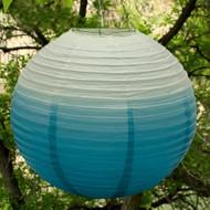 Ombre Round Paper Lantern