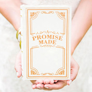 """A Promise Made"" Vintage Inspired Ring Book"