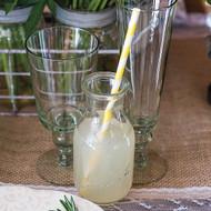 Glass Milk Bottle (Set of 4)