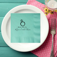 Bride and Co. Personalized Bridal Shower Napkins | Bridal Shower Napkins
