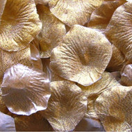 Gold Dust Silk Petals {Package of 100}