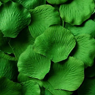 Green Silk Petals {Package of 100}