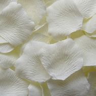 Ivory Silk Petals {Package of 100}