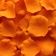 Orange Silk Petals {Package of 100}
