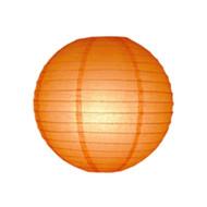 Orange Round Paper Lantern