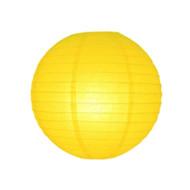 Yellow Round Paper Lantern