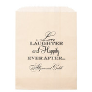 Love, Laughter and Happily Ever After ... Personalized Candy Bag