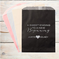 A Sweet Ending To A New Beginning Personalized Candy Bag