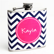 Chevron Custom Flask