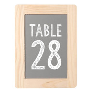 Placecard and Table Number Mini Chalkboard