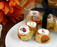 Personalized Hersheys Miniature Reese's Cups in Wedding Designs