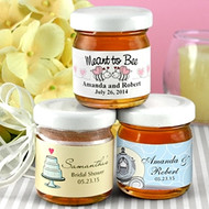 Personalized Jars of Honey