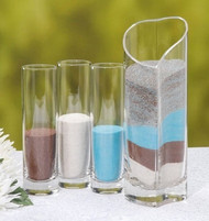 4-Piece Heart Vase Unity Sand Set