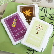 """""""Fall for Love"""" Personalized Notebook Favor"""
