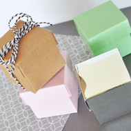 DIY Favor Boxes in Assorted Colors (Set of 12)