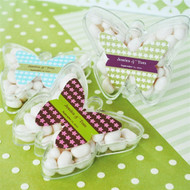 Butterfly Acrylic Favor Boxes