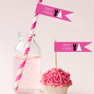 Personalized Theme Flag Label