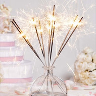 Glowing with Love Wedding Sparklers (Set of 6)