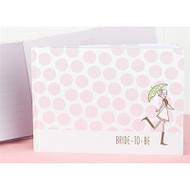 Pink Polka Dot Bridal Shower Guest Book