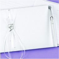 Heartfelt Whimsy Guest Book and Pen