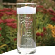 """""""In Loving Memory"""" Memorial Cylinder"""