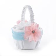 Pretty Pastels Flower Girl Basket