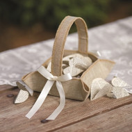 Rustic Country Flower Girl Basket