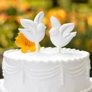 Love Birds Cake Pick Set