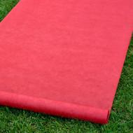 Aisle Runner in Red