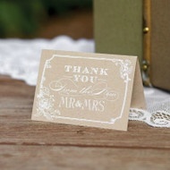 Country Blossom Thank You Cards (Set of 50)