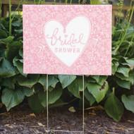 Bridal Shower Yard Sign