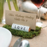 Rustic Love Place Card Holders (Set of 6)