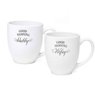 Good Morning Wifey / Hubby Mug Set