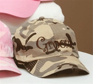 "Camouflage ""Groom"" Hat"