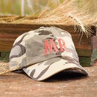 """Mr."" Desert Camouflage Hat"