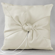 Love Knot Ring Pillow in Ivory