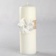 Rustic Garden Unity Candle