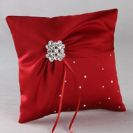 Celebration Ring Pillow in Claret