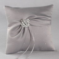 Celebration Ring Pillow in Platinum