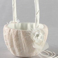 Bianca Flower Girl Basket