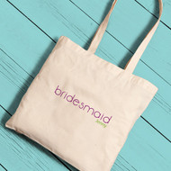 Classic Bridesmaid Tote Bag