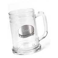 Personalized 16 oz. Mug with Pewter Emblem