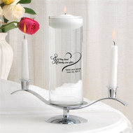 """Happily Ever After"" Floating Unity Candle Set"
