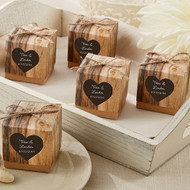 Personalized Rustic Favor Box (Set of 24)