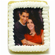 Extra Large Wedding Iced Photo Cookies