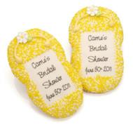 Flip Flop Sugar Cookies