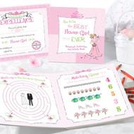 Flower Girl Activity Gift Set